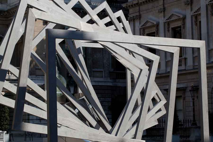 royal academy installation chris wilkinson structure summer