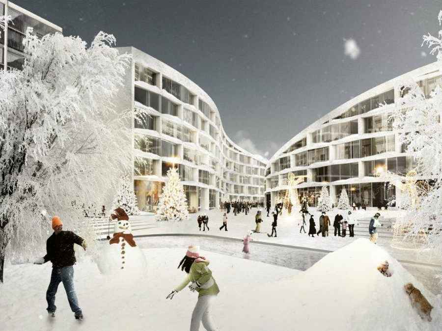 Finnish architecture buildings finland e architect for Design hotel ski