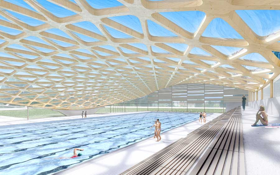 Piscine Tourcoing Olympic Swimming Pool In France E Architect