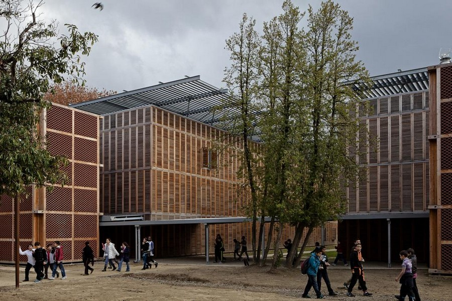 Boarding school of excellence montpellier building e for Montpellier terre archi