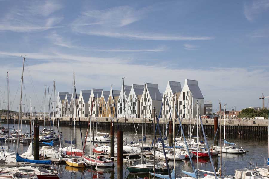Grand large housing dunkirk dunkerque zac e architect - Restaurant grand large dunkerque ...