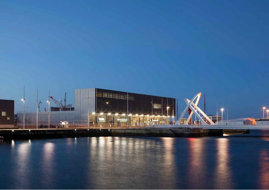 Higher education and university center le havre france for 3d architecture le havre