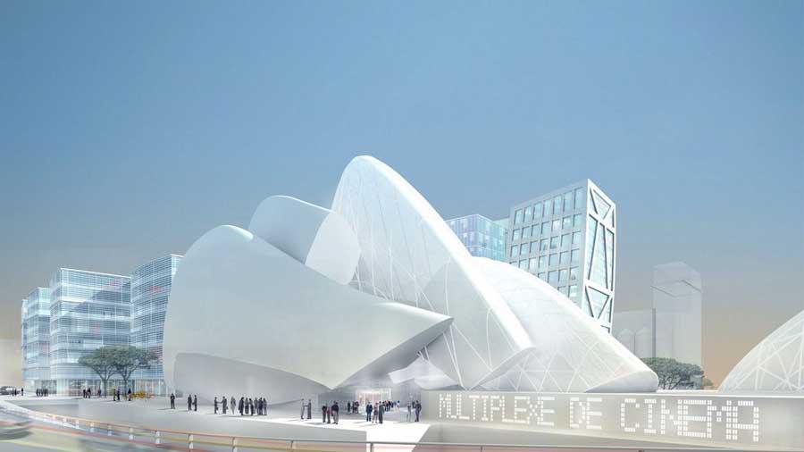 Marseille grand mosque building e architect