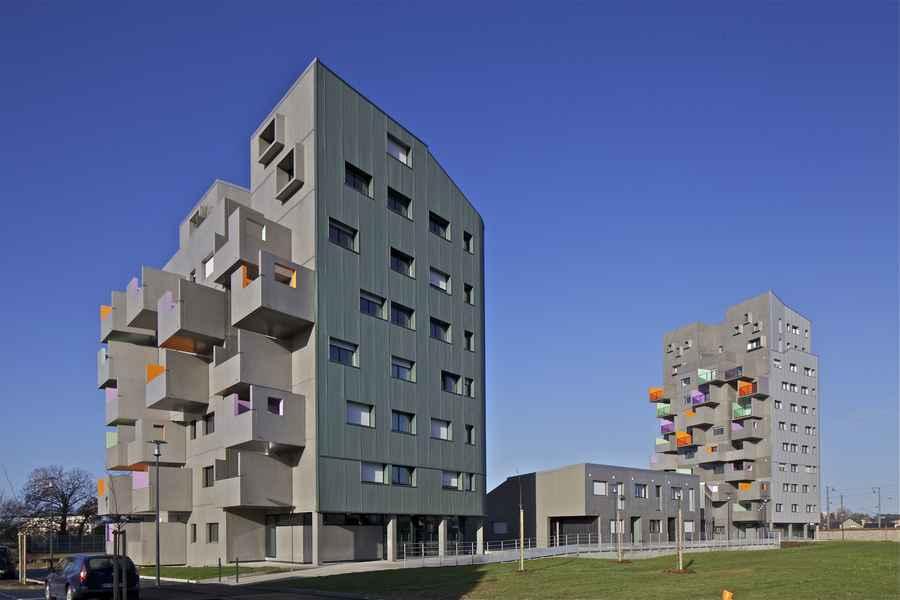 M diath que romain rolland romainville e architect for Architecture rennes