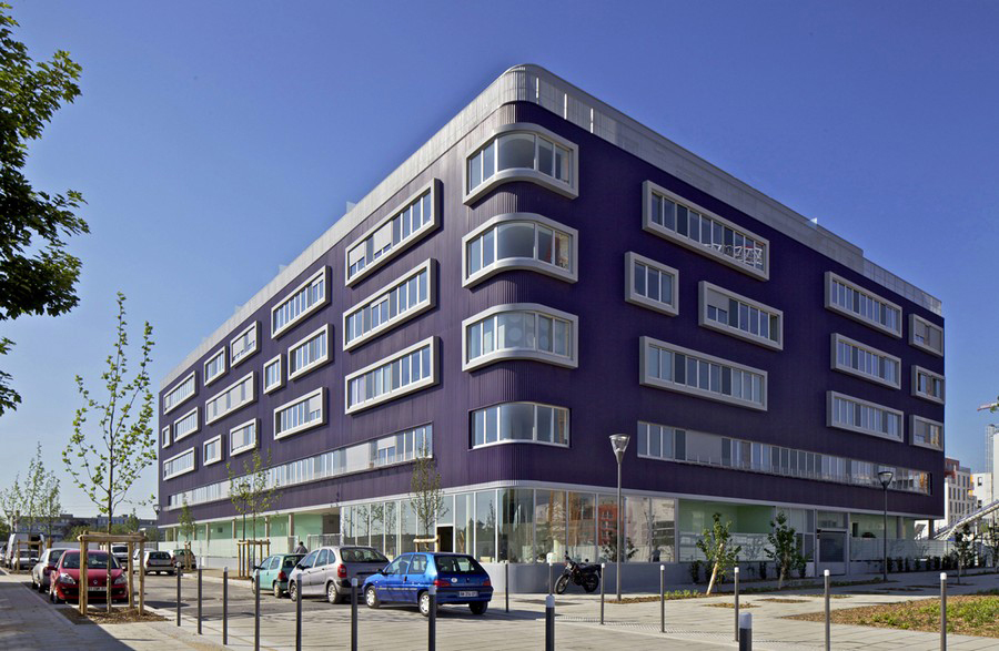 Massy France  city images : Massy Social Housing, France : Residential Architecture