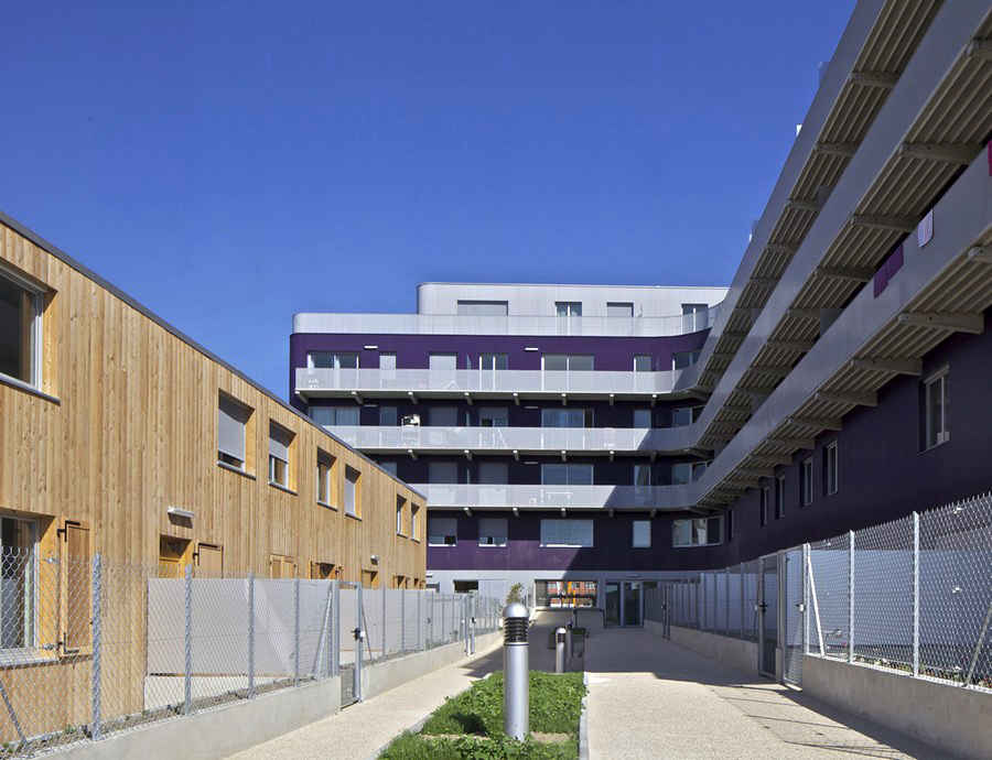Massy France  city photos : Massy Social Housing, France : Residential Architecture