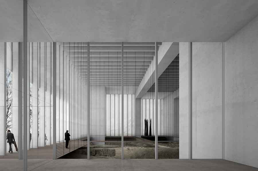 Mus 233 E Des Beaux Arts Reims David Chipperfield Reims