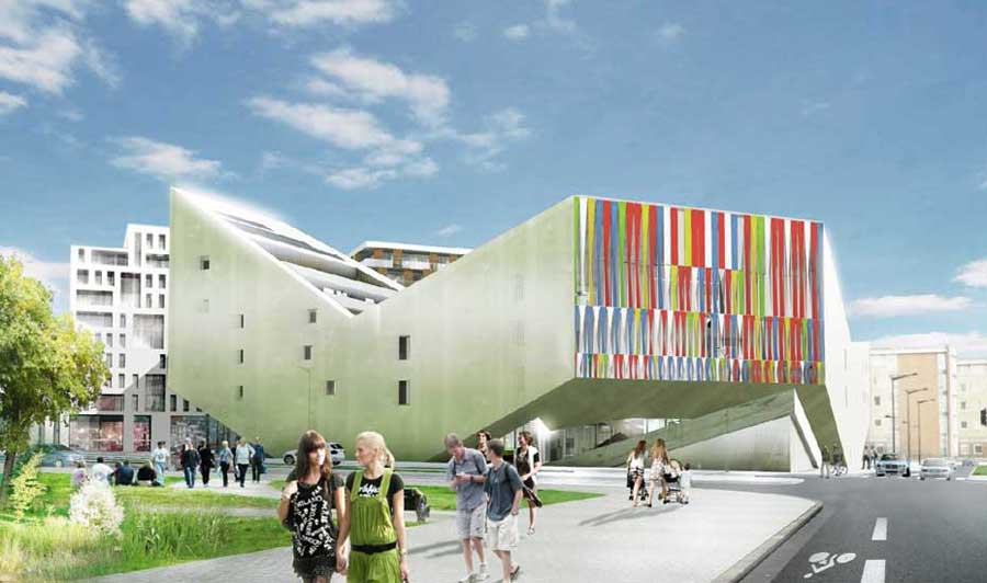 Jds architects practice information e architect for Youth center architecture