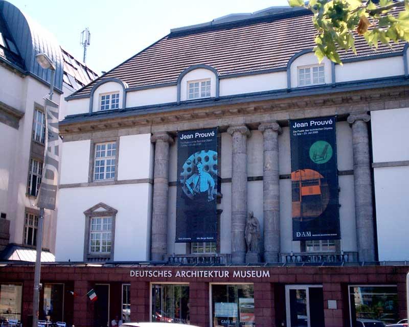 Deutsches architektur museum dam frankfurt german for Design museum frankfurt