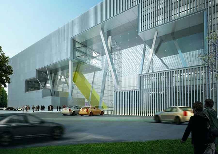 TBC Bank Headquarters Tbilisi Architecture E architect