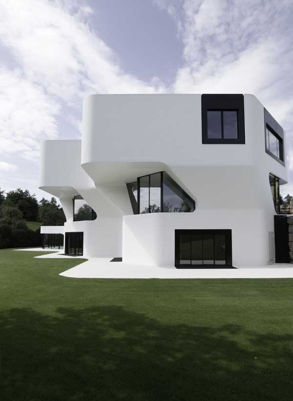 Dupli casa german house ludwigsburg e architect for Luxury home architects