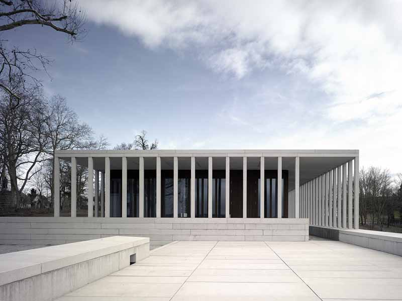 Schiller national museum marbach building photos e for Lit national