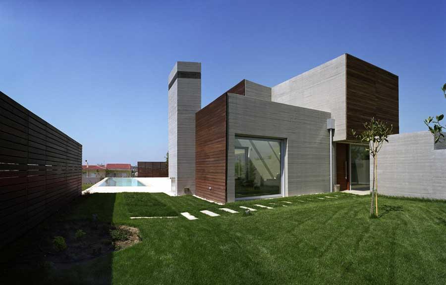 Larissa Residence Greek Residential Building House E