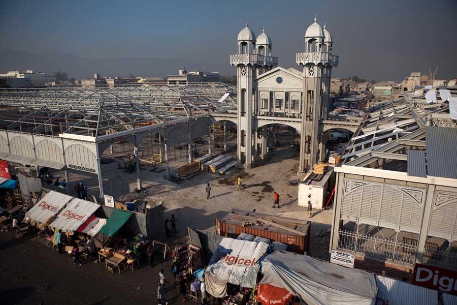 Iron Market Haiti - Port-au-Prince Building - e-architect