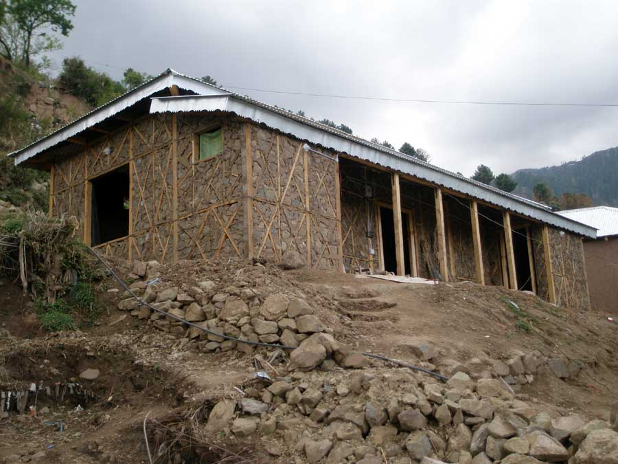 Building Mud Houses In Haiti