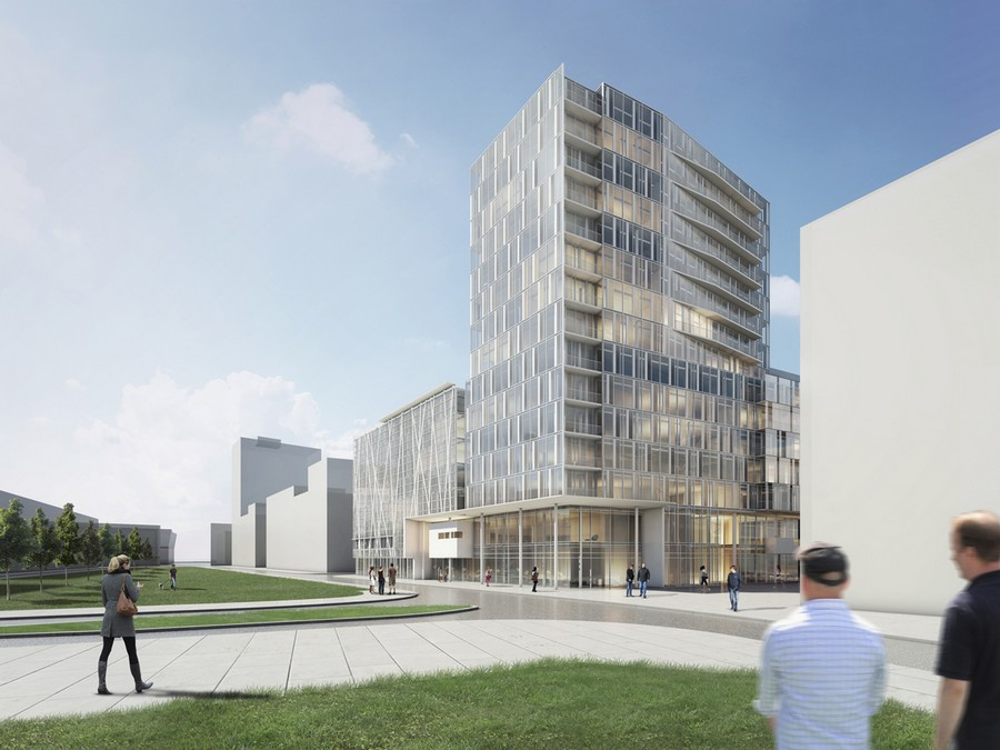 Engel v lkers headquarters hamburg building e architect for Engel and volkers nyc