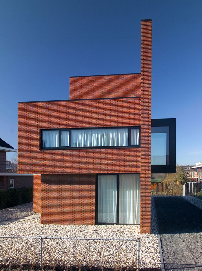 Brick Wall House Woerden Residence E Architect