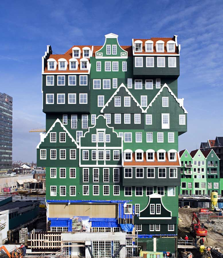 Zaandam hotel dutch building inntel hotel zaandam e for Designhotel holland