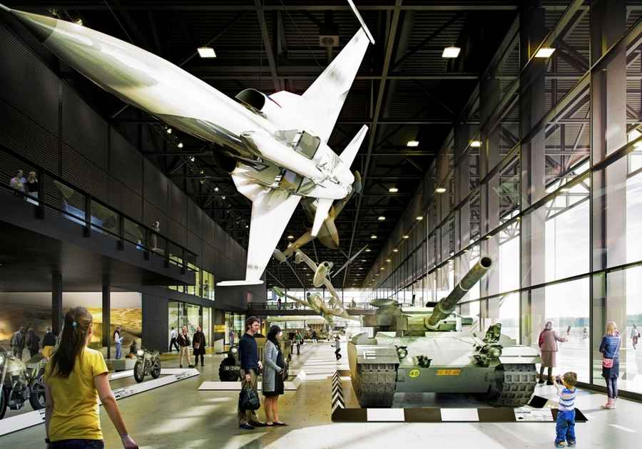 National Military Museum Netherlands - Holland - e-architect