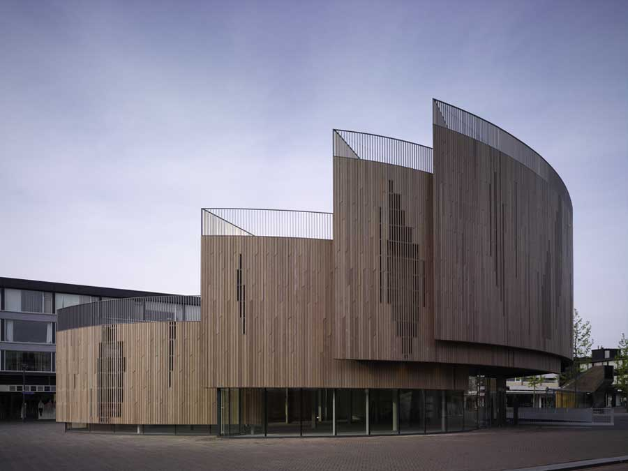 Pavilion in roosendaal dutch building architect for Architecture t square