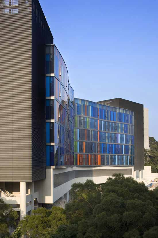 Chinese University of Hong Kong, Centralised Science Laboratories Buildings earchitect