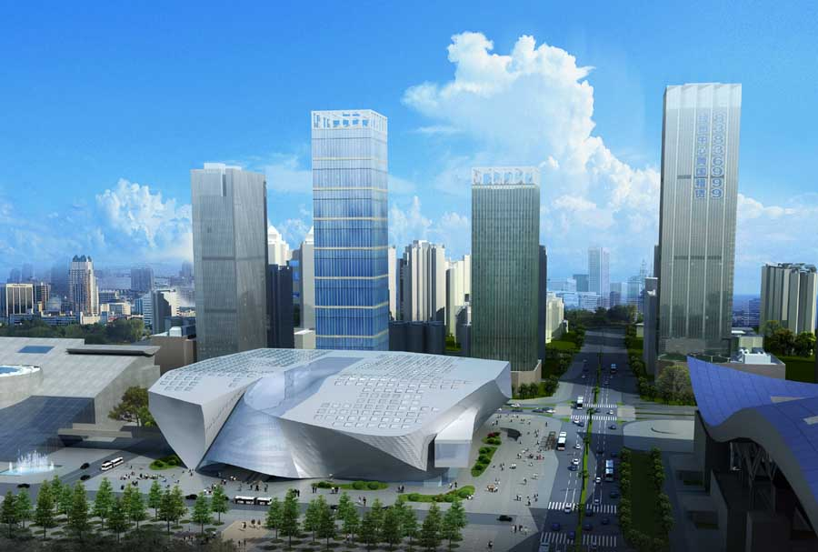 Shenzhen Buildings Architects Architecture China E Architect