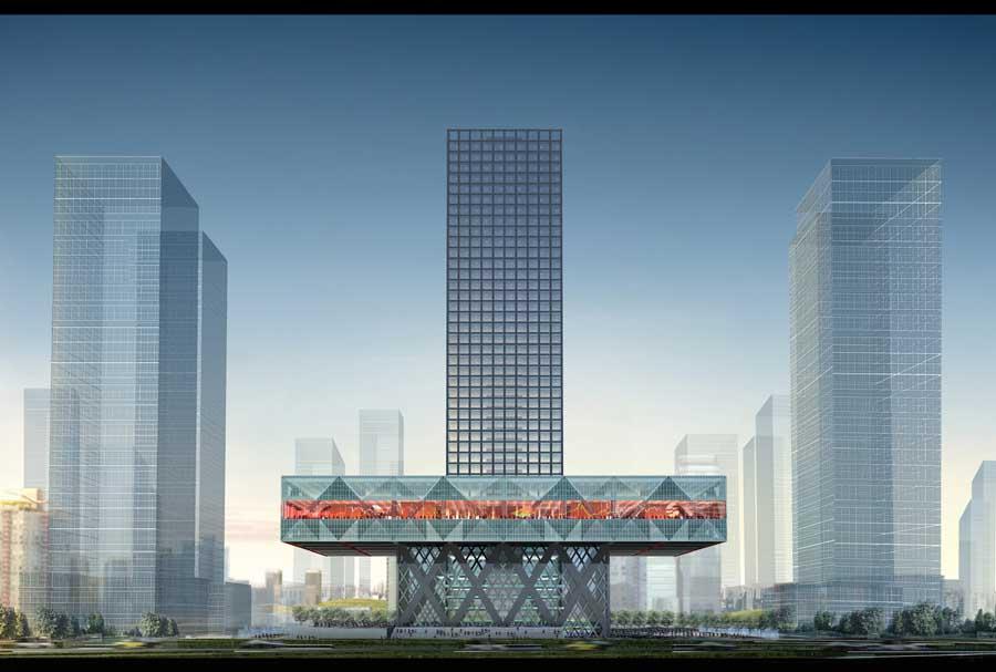 Oma Architects Dutch Design Studio E Architect
