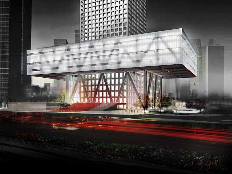 Shenzhen Stock Exchange Oma Building In China E Architect