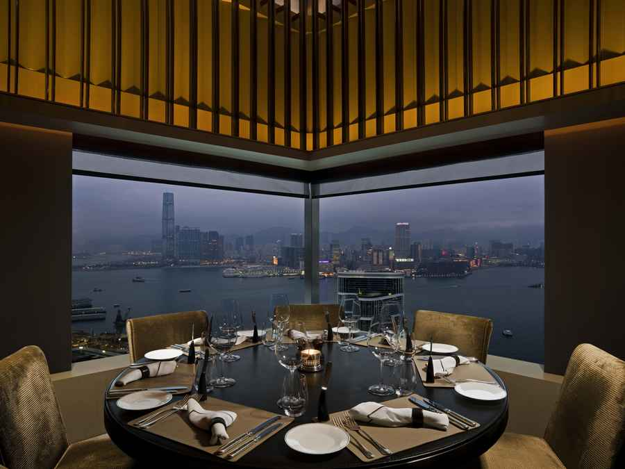The upper house in hong kong swire hotels awards e for Best private dining rooms hong kong