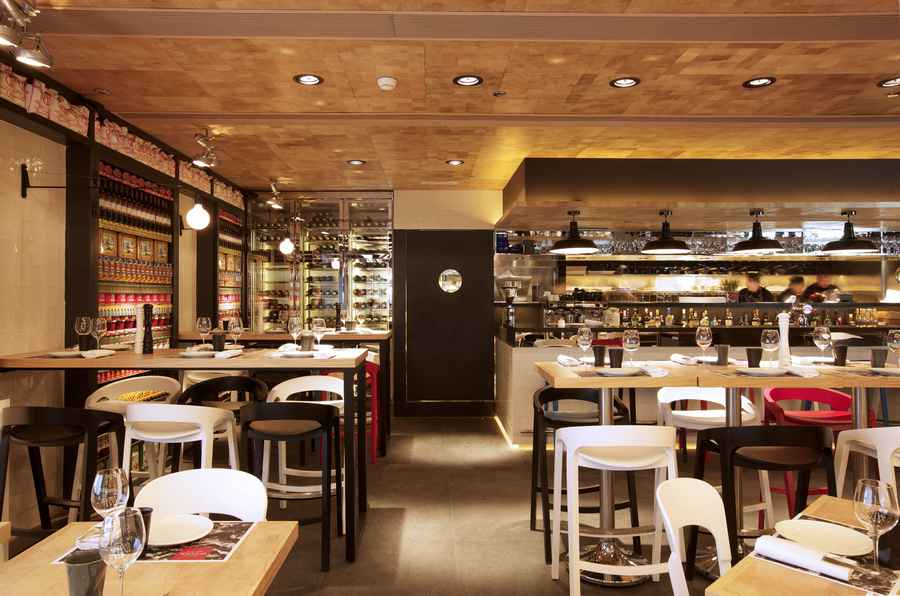 Vi cool kowloon harbour city restaurant hong kong e architect Kitchen design companies hong kong
