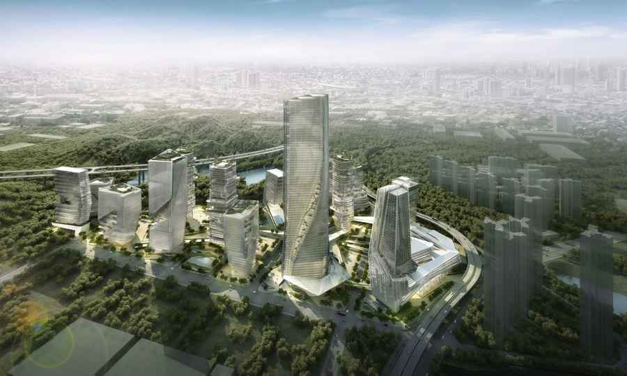 high tech modern architecture buildings. Perfect Modern Yabao HiTech Enterprises Headquarter Park Shenzhen Image From Architects To High Tech Modern Architecture Buildings E
