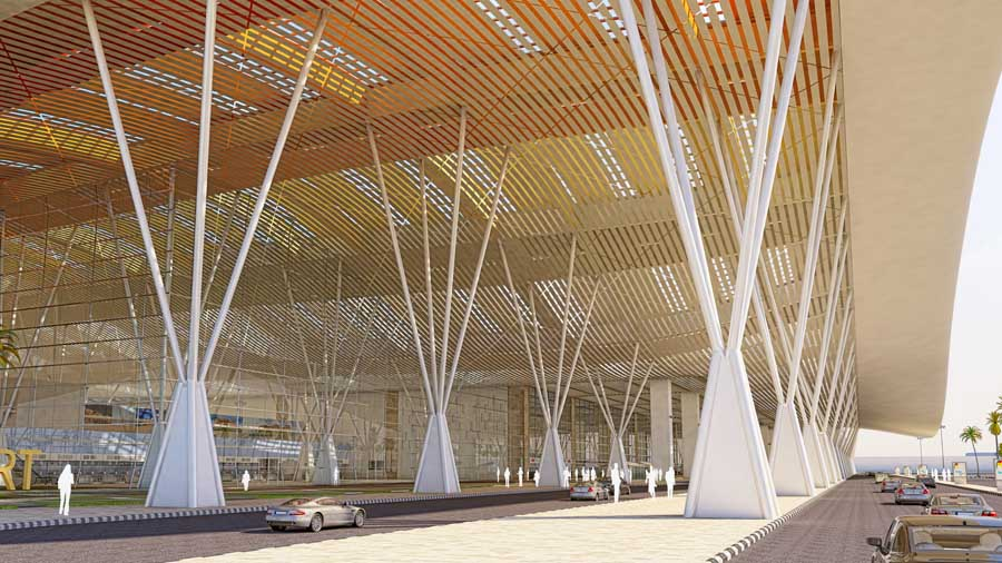 Design HOK Architects Bangalore Airport