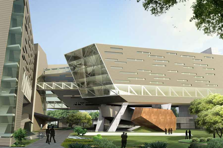 Cipla pharmaceuticals mumbai vikhroli building cipla for Best architecture companies in india