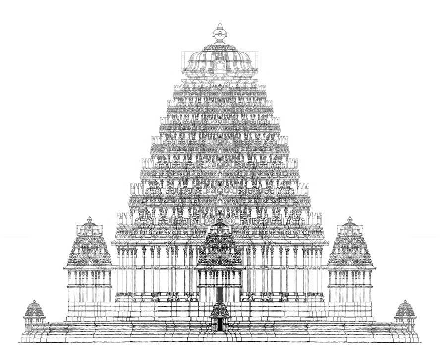 Hindu temples free colouring pages for Building the temple coloring pages