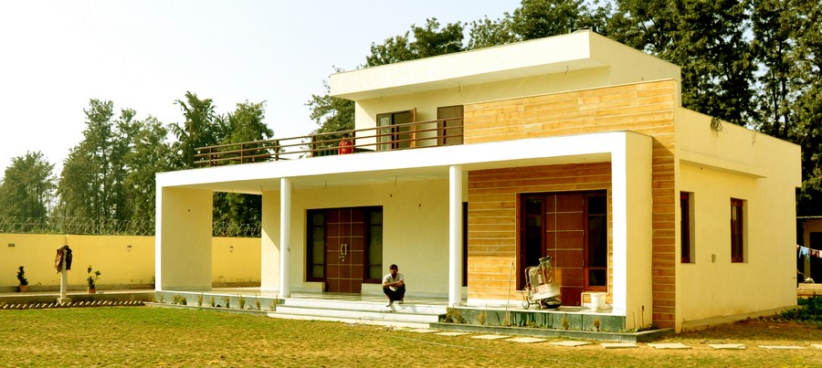 Chattarpur farm house indian residence e architect for Architecture design for home in delhi