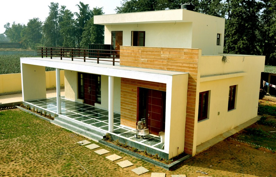 Chattarpur Farm House Indian Residence e architect