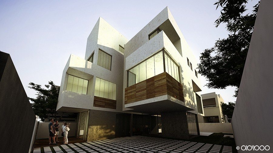 Abiboo architecture madrid architects e architect House architecture chennai