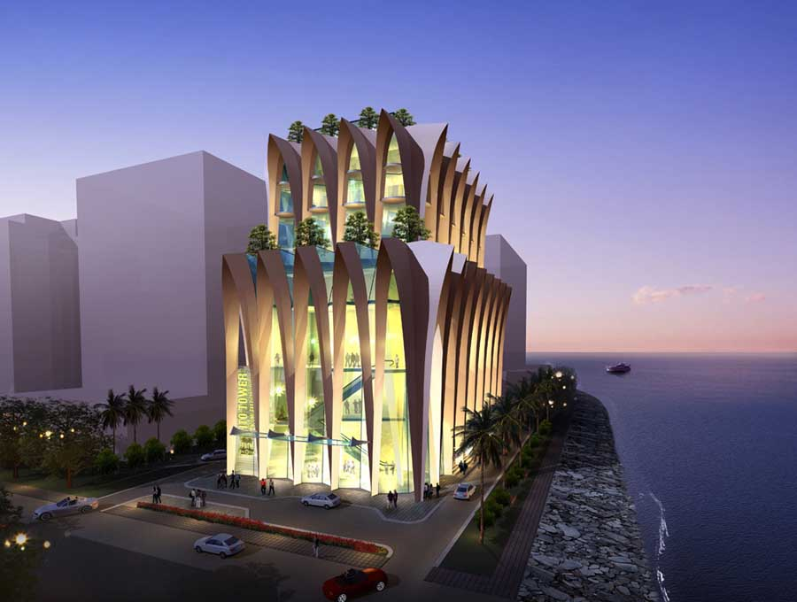 Mumbai city museum competition e architect for Best contemporary architects