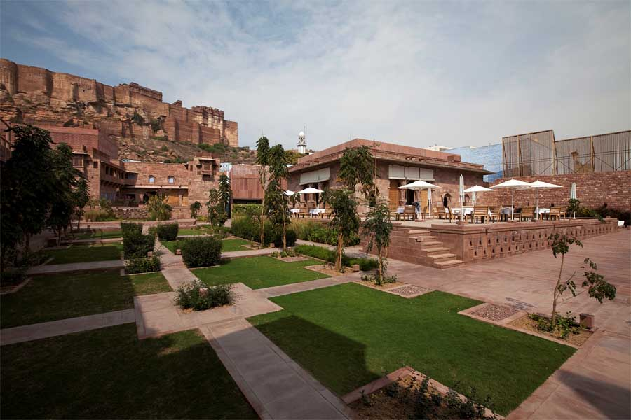 Architects In Jodhpur #11: Rajasthan Building Rajasthan Hotel Building Raas Hotel India Raas Jodhpur  India