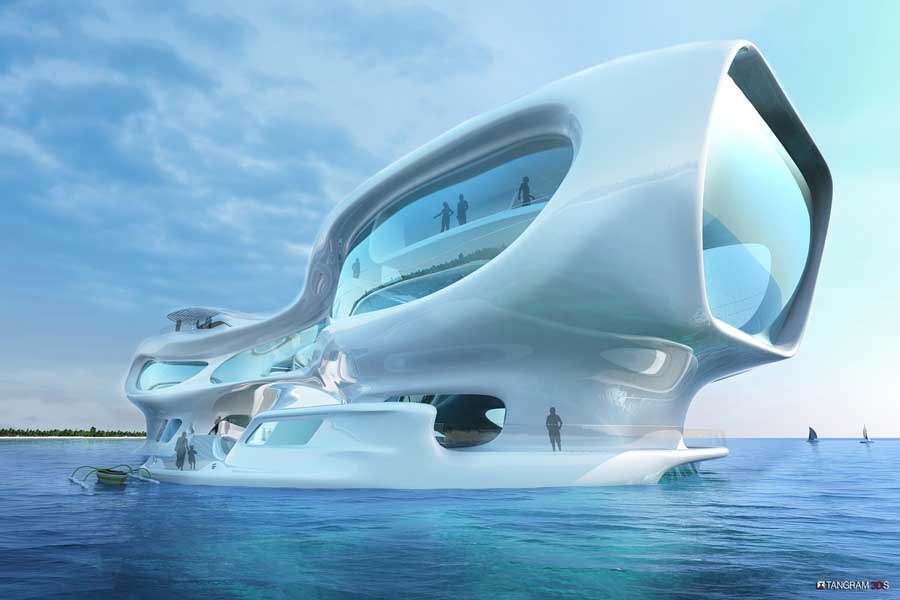 Marine Research Center Bali Indonesia Building E Architect
