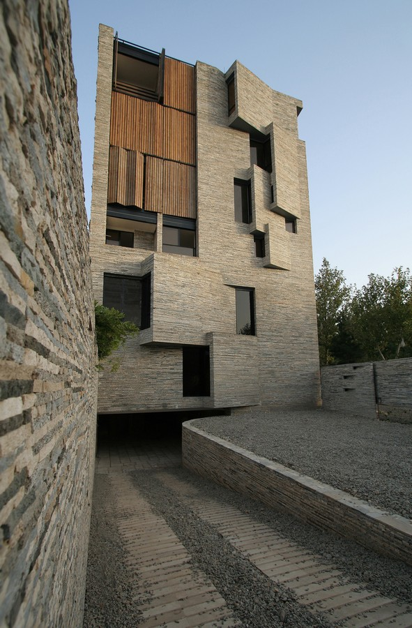 Contemporary Housing Residential Buildings E Architect