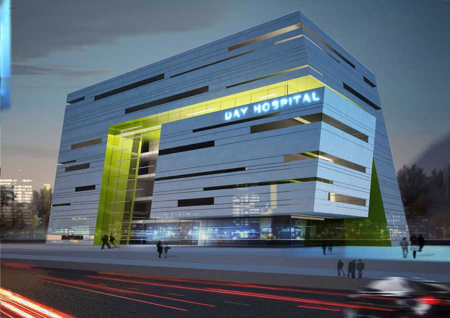 Dei Hospital Zahedan Building Iran Healthcare E Architect