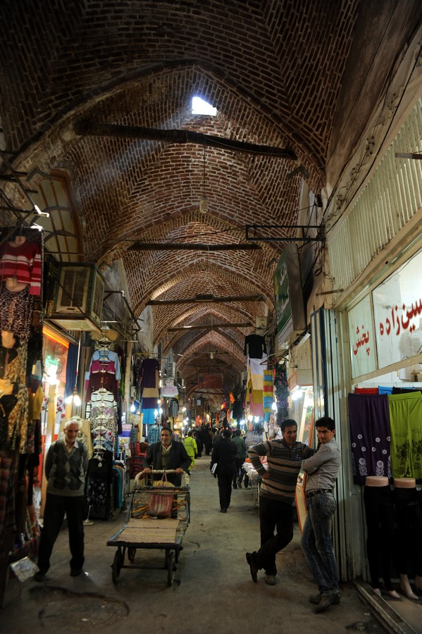 Tabriz Bazaar Rehabilitation Iran Project E Architect