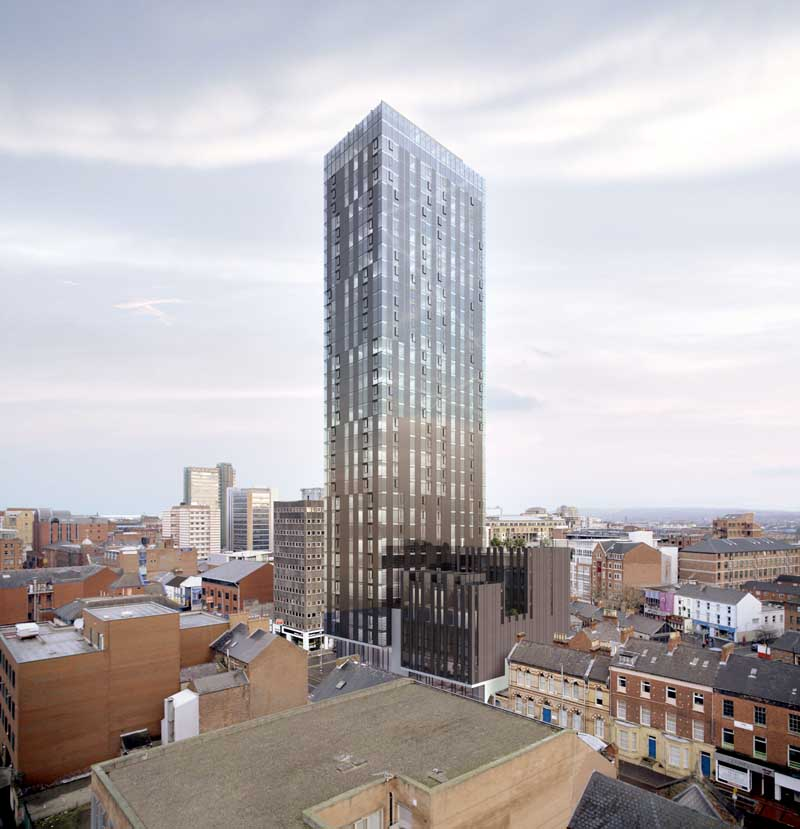 Skyscraper images tower pictures e architect for Office design northern ireland