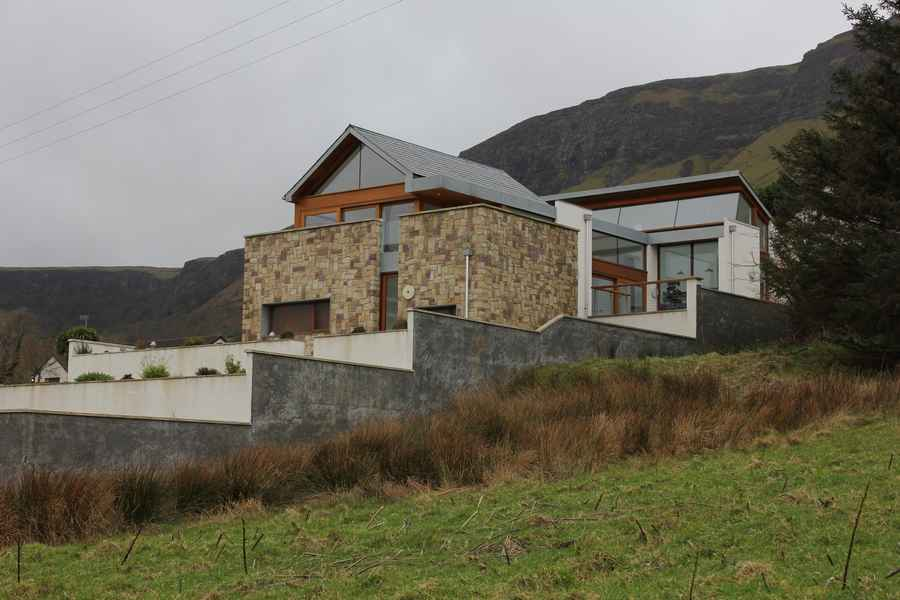 Glenariffe house glens of antrim property e architect for Irish home designs