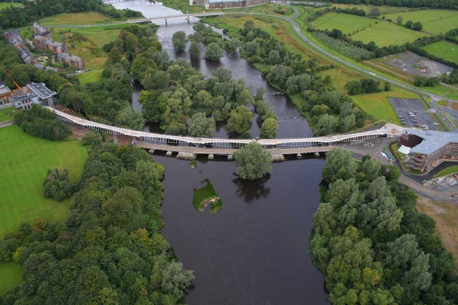 Limerick Bridge Ireland E Architect