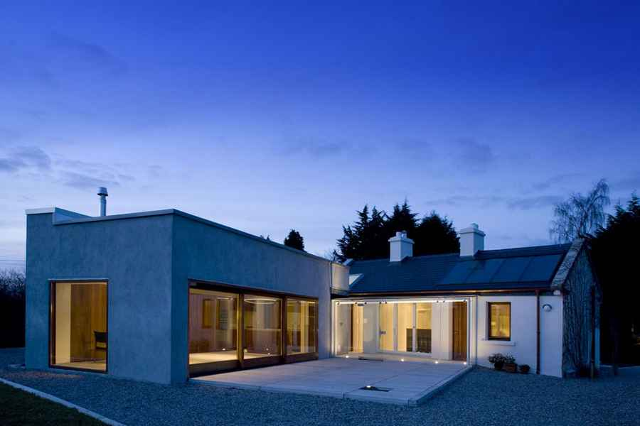 Irish architecture buildings ireland e architect for Modern house design northern ireland