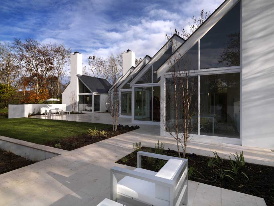 Origami house irish rural property e architect for Architectural design homes pictures