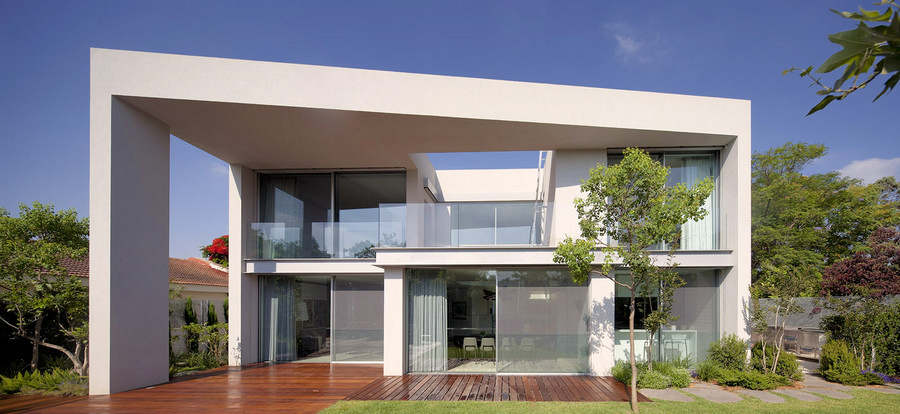 Modern Architectural Features new houses - house designs - e-architect