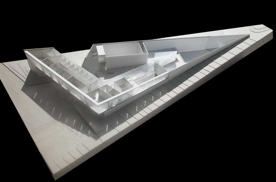 Jabotinsky Center Building – design by Chyutin Architects
